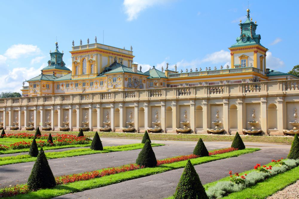 Warsaw - Wilanow Palace