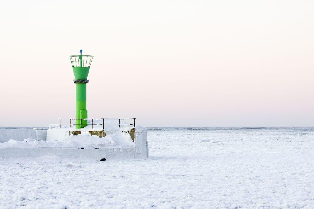 Morze Bałtyckie - zima